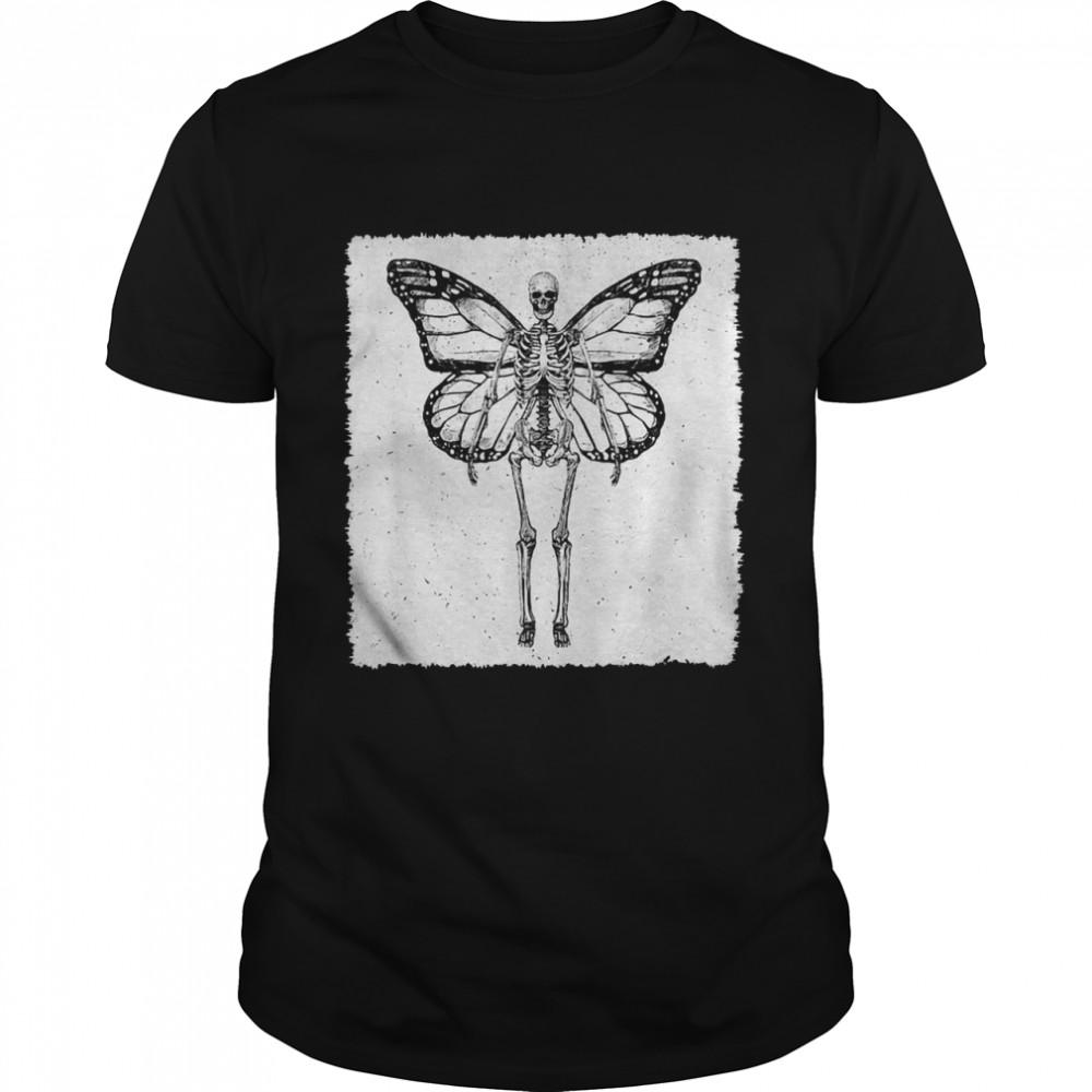 Butterfly Skeleton Fairy Grunge Fairycore Aesthetic Gothic Cottagecore T-shirt Classic Men's T-shirt