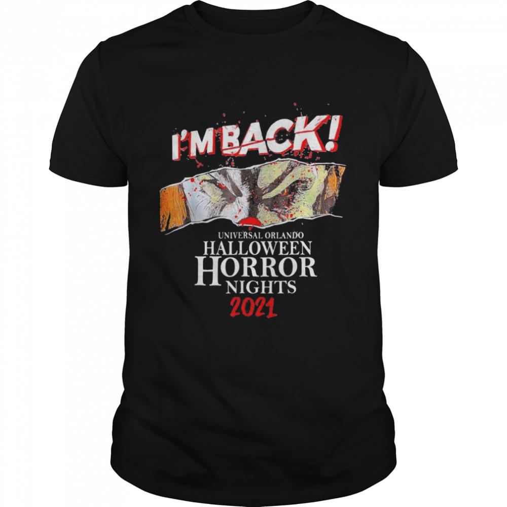 I'm Back Universal Orlando Halloween Horror Nights 2021 T- Classic Men's T-shirt