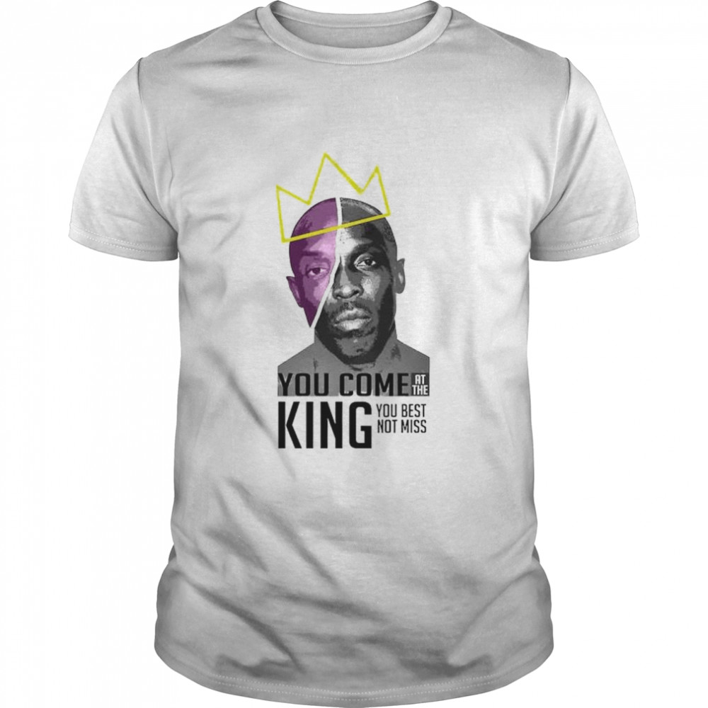 Michael K. Williams you come at the king you best shirt Classic Men's T-shirt