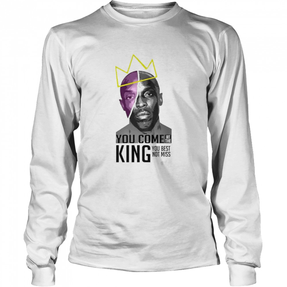 Michael K. Williams you come at the king you best shirt Long Sleeved T-shirt