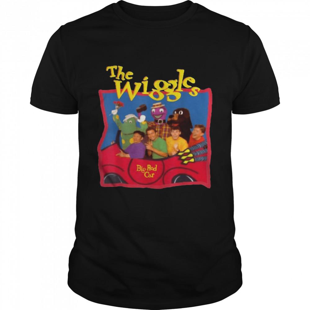 The Wiggles Big Red Car T-shirt Classic Men's T-shirt