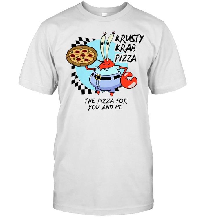 the krusty krab pizza shirt Classic Men's T-shirt