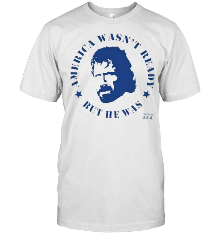Aaron Rodgers Chuck Norris America wasn't ready but he was shirt