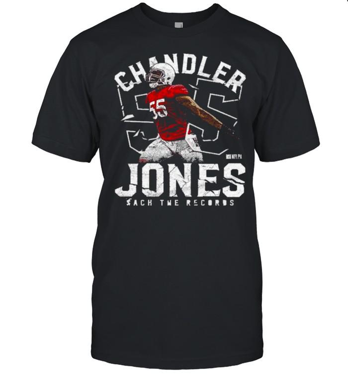 Chandler Jones Sack The Records Signature Shirt