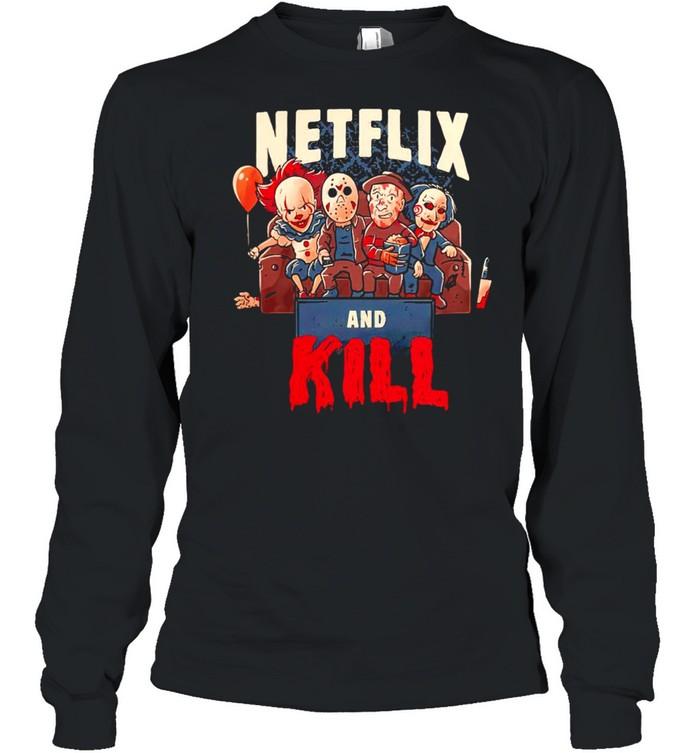 Netflix and kill Halloween shirt Long Sleeved T-shirt