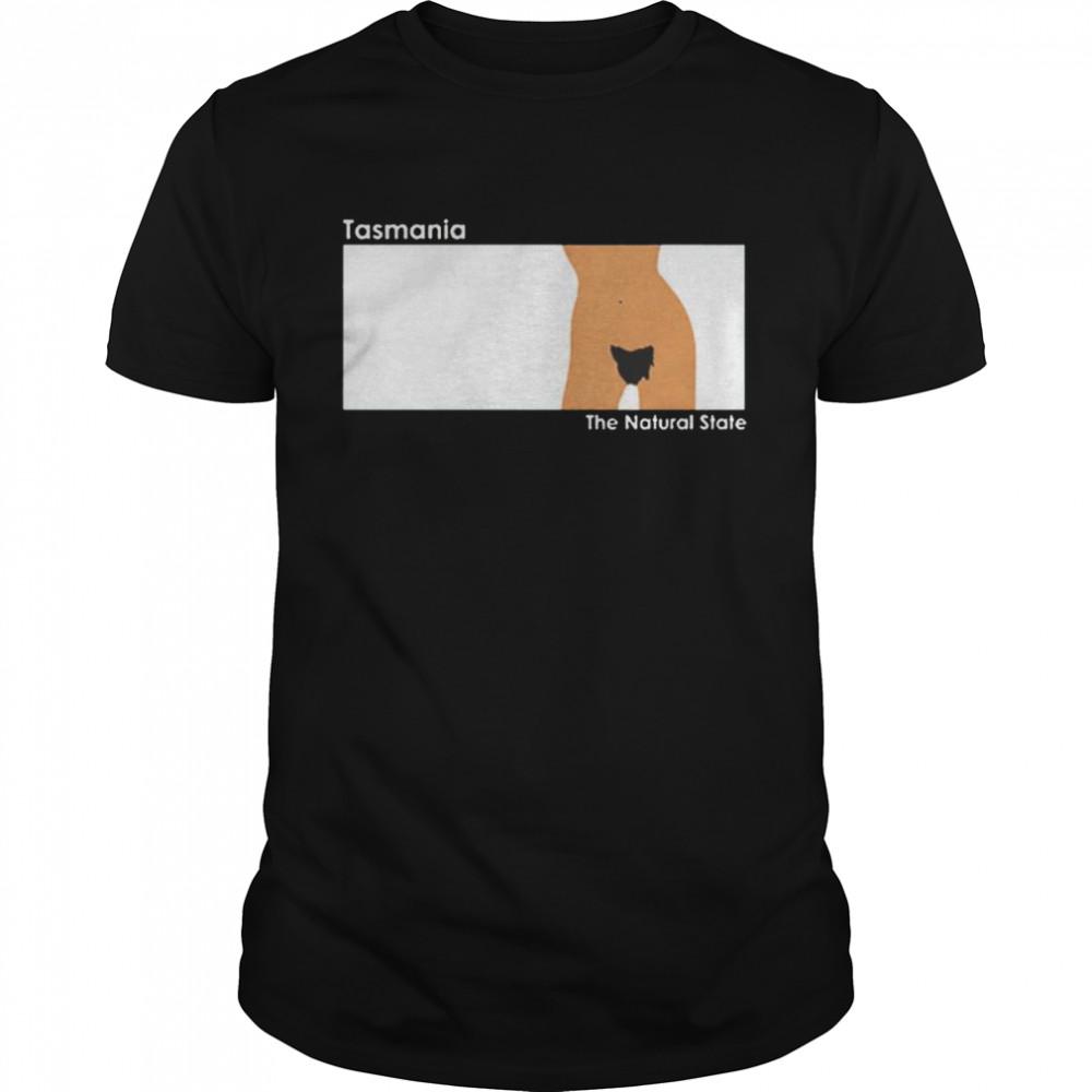 Tasmania the natural state shirt Classic Men's T-shirt