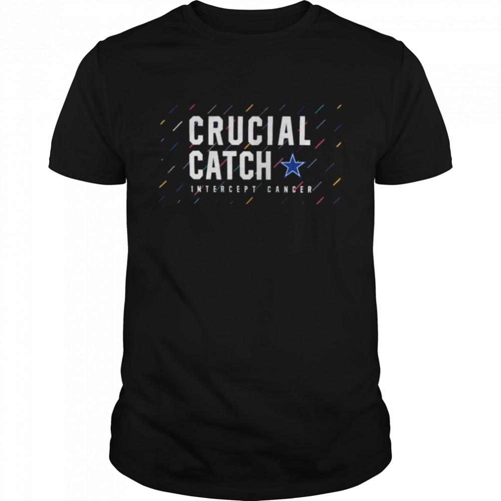 Dallas Cowboys 2021 crucial catch intercept cancer shirt Classic Men's T-shirt