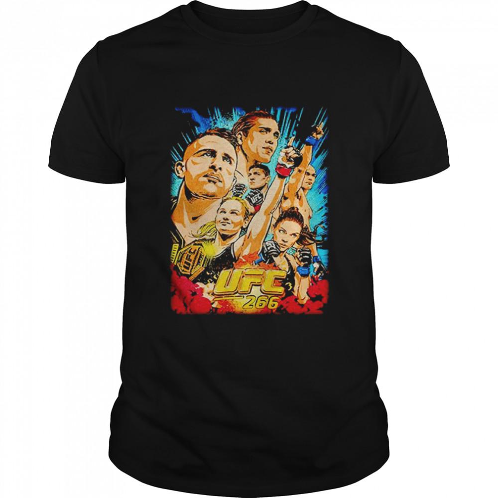UFC 266 artist serie poster shirt Classic Men's T-shirt