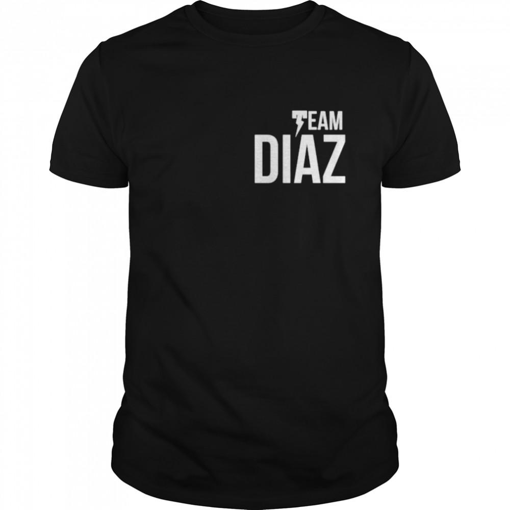 Team diaz shirt