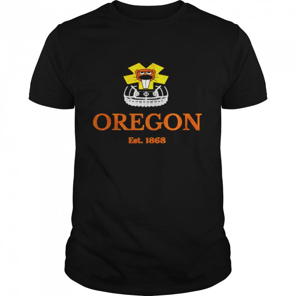 Oregon State Est 1868 shirt Classic Men's T-shirt
