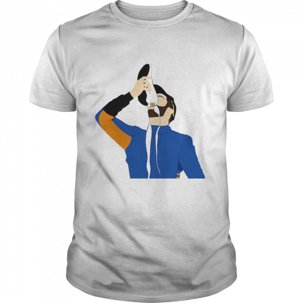 Daniel Ricciardo Shoey 2021 shirt Classic Men's T-shirt