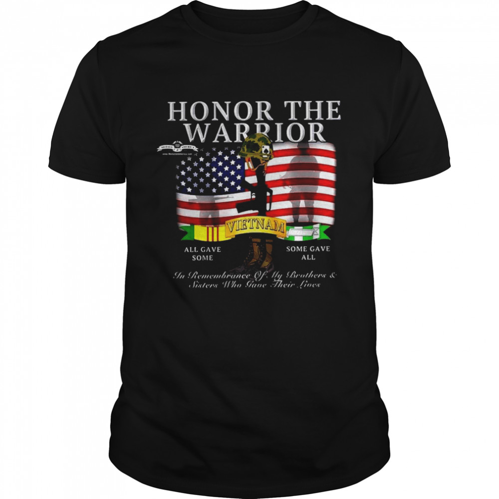 Honor The Warrior All Gave Some In Remembrance Of My Brothers And Sisters Who Gave Their Lives T-shirt Classic Men's T-shirt