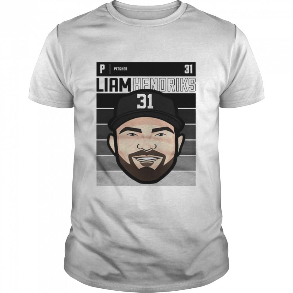 Chicago baseball number 31 Liam Hendriks shirt Classic Men's T-shirt
