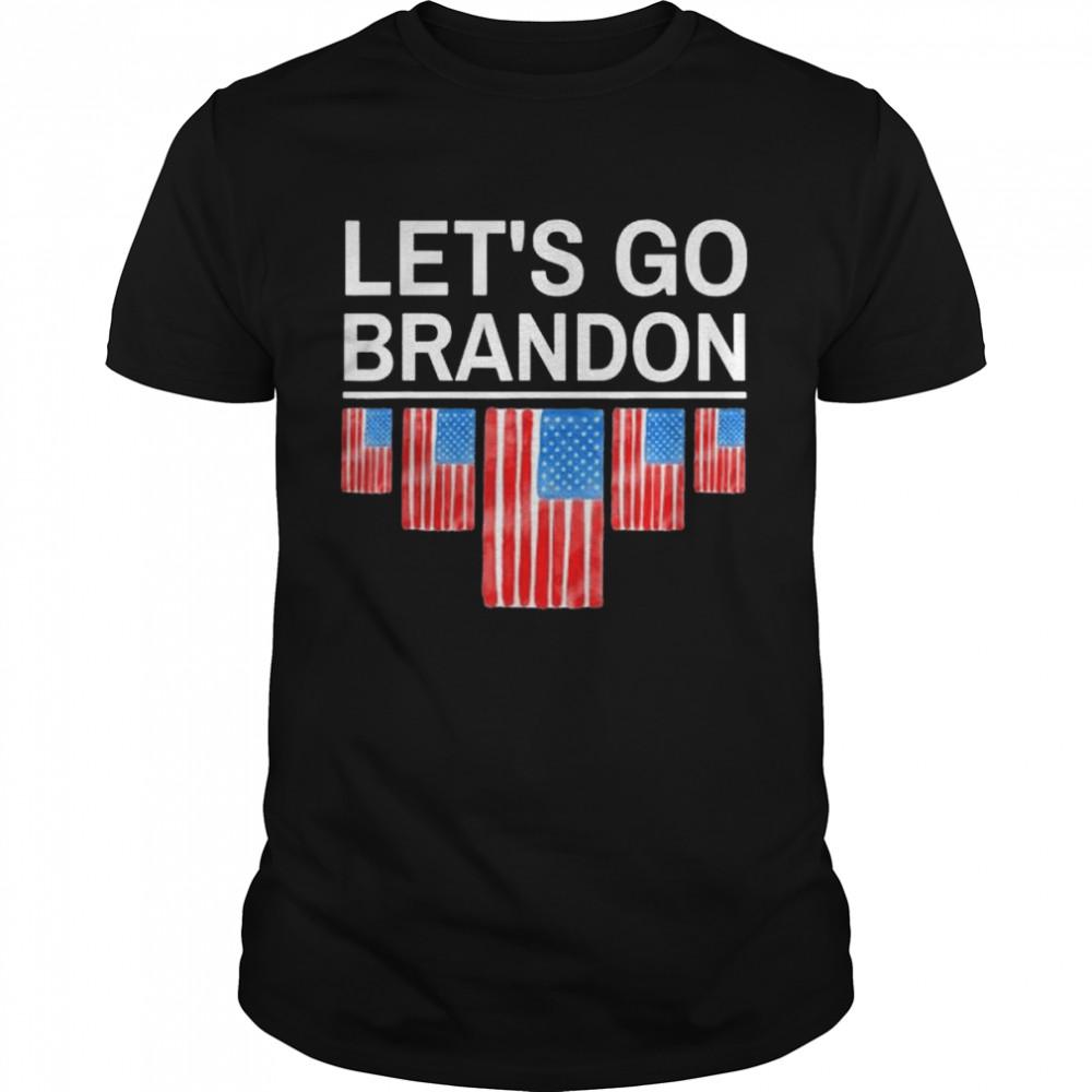 Let's Go Brandon Joe Biden Chant Anti Biden  Classic Men's T-shirt