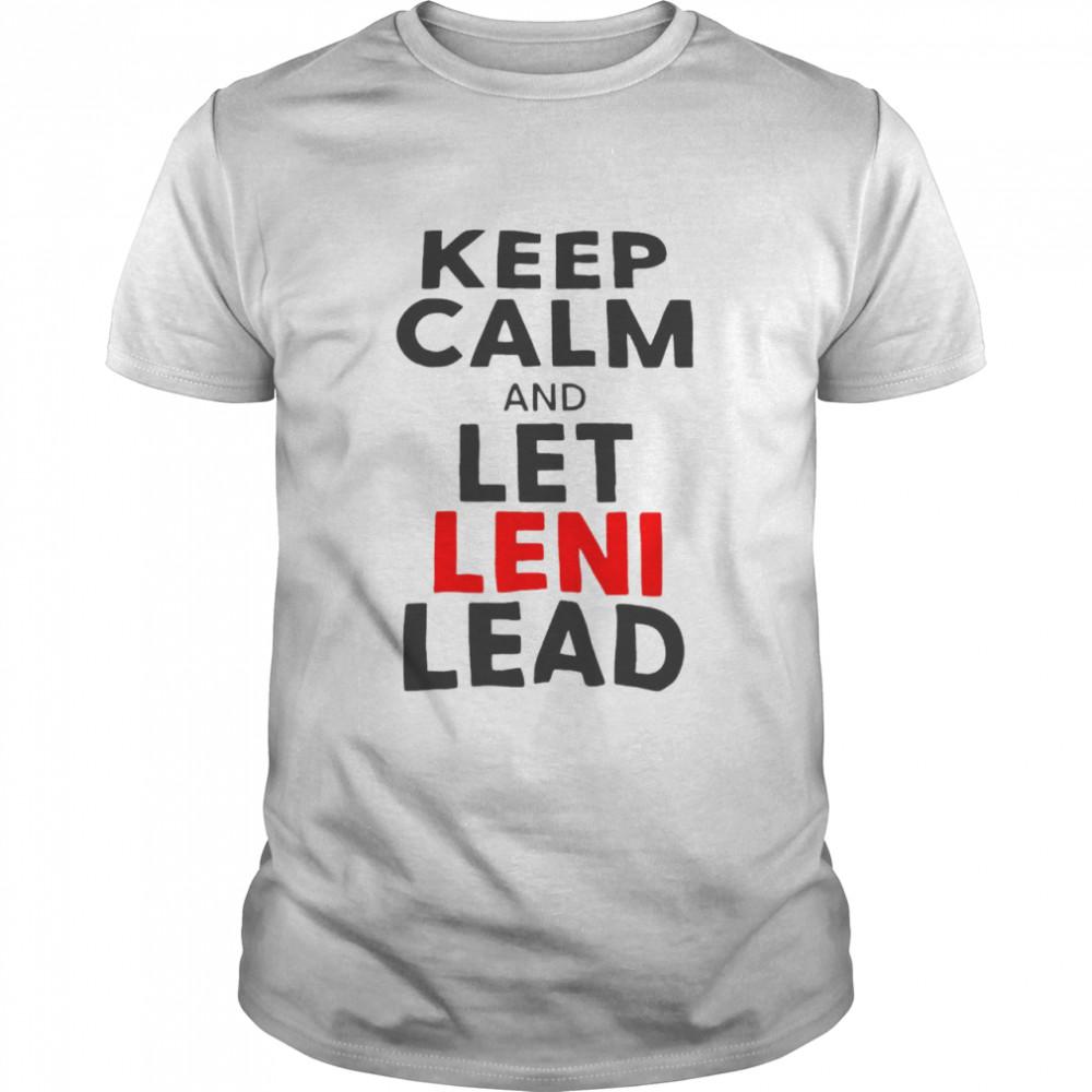 Keep Calm And Let Leni Lead  Classic Men's T-shirt