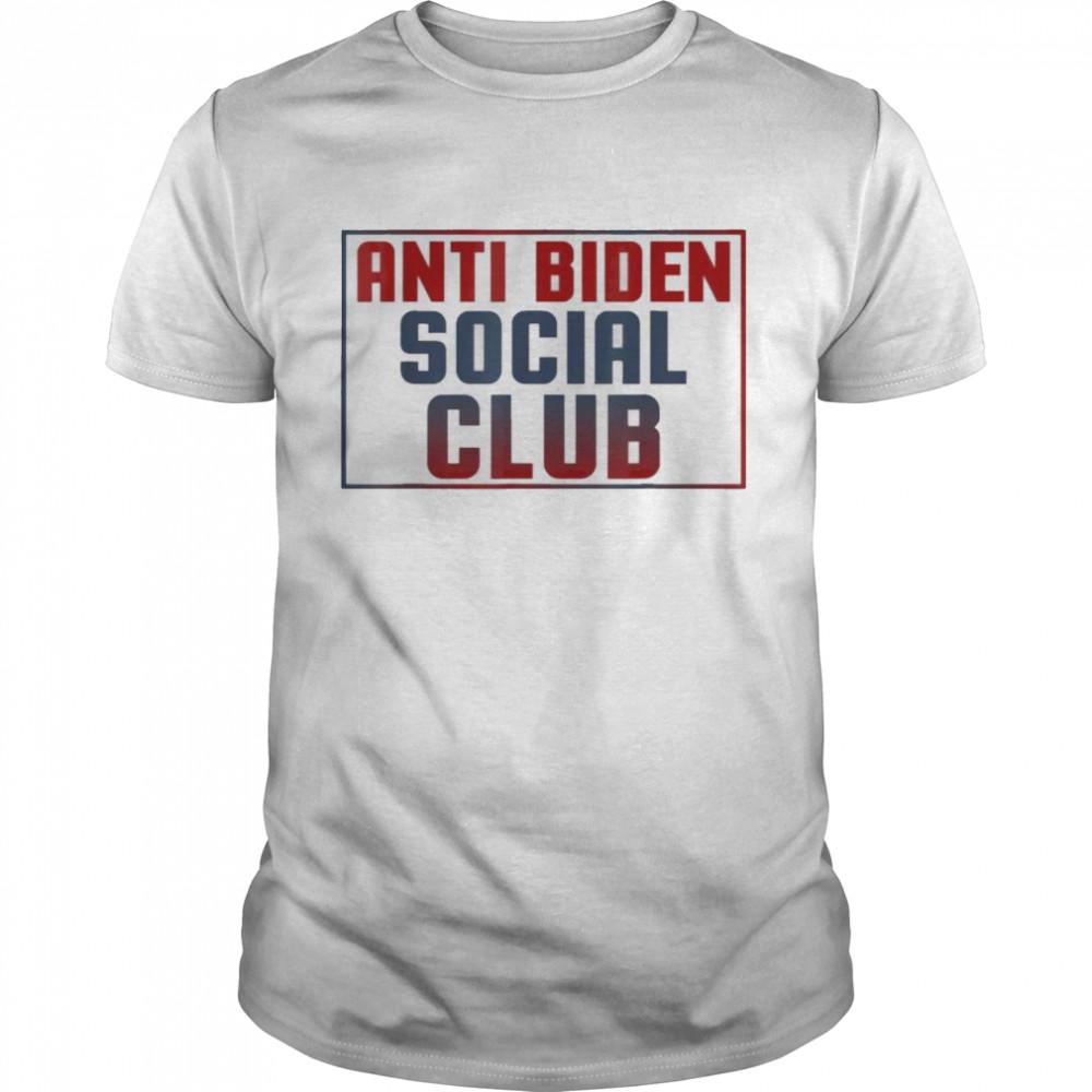 The Anti Biden Social Club Tee  Classic Men's T-shirt