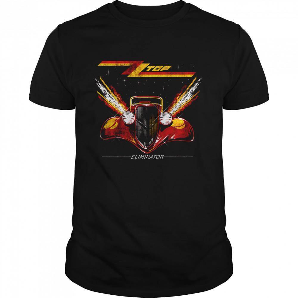 ZZ Top Eliminator Distressed T- Classic Men's T-shirt