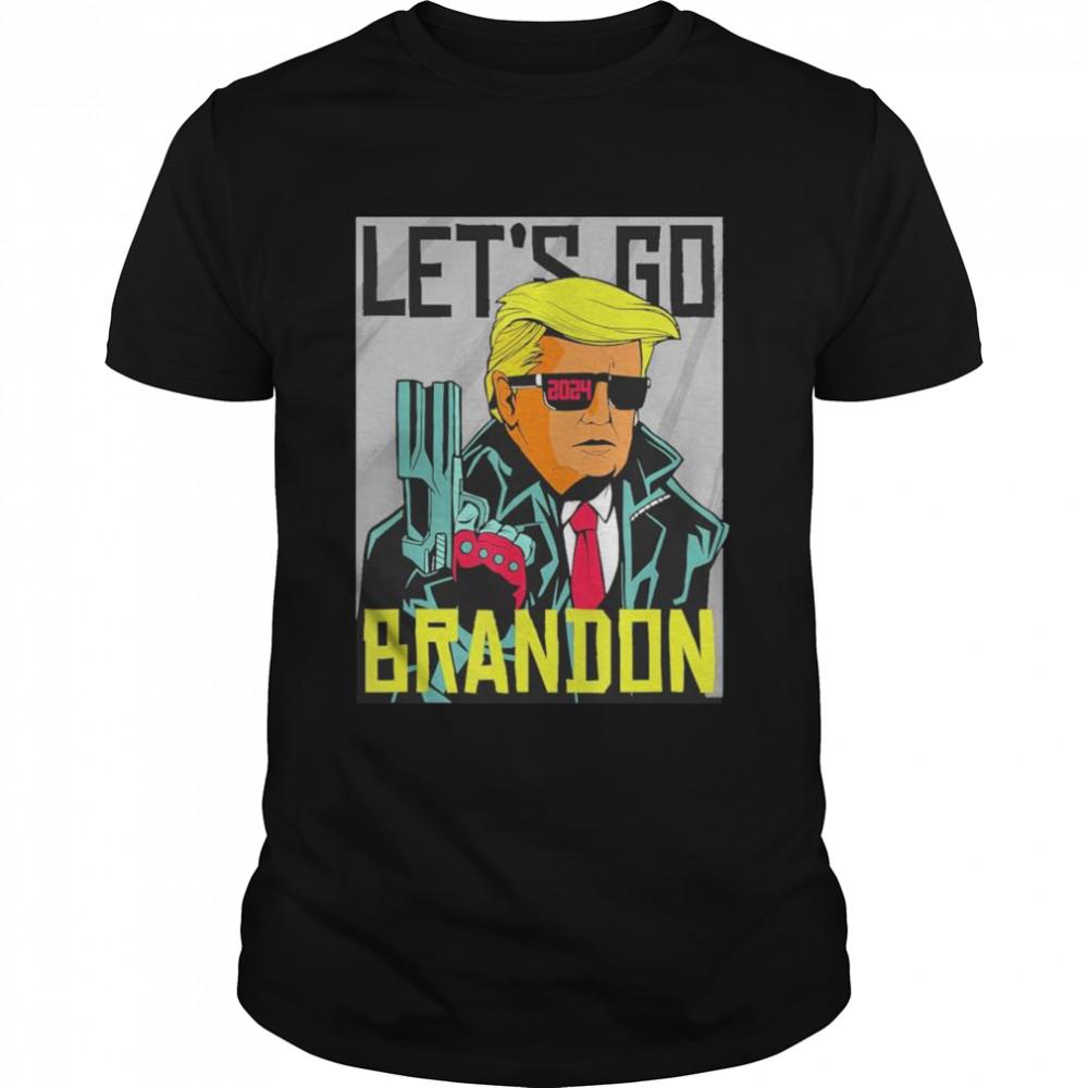 Lets Go Brandon Super Trump shirt Classic Men's T-shirt