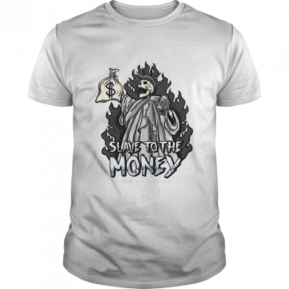 Slave To The Money Halloween shirt Classic Men's T-shirt