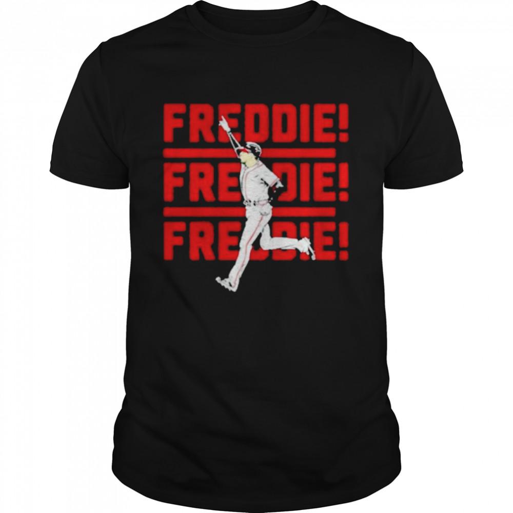 Nice freddie freeman atlanta braves shirt Classic Men's T-shirt