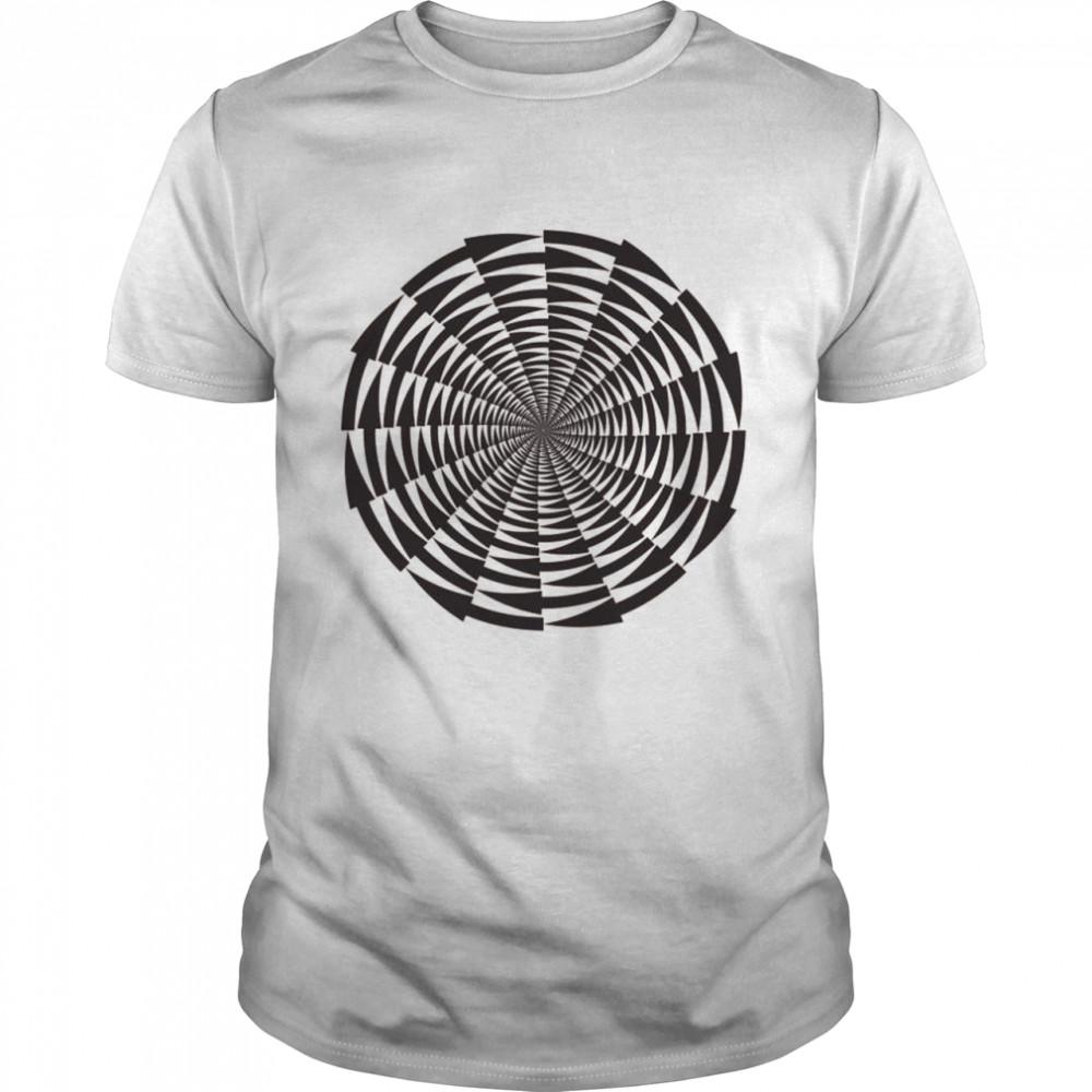 Optical Illusion  Classic Men's T-shirt