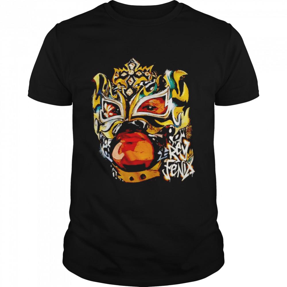Rey Fenix King Spray shirt Classic Men's T-shirt
