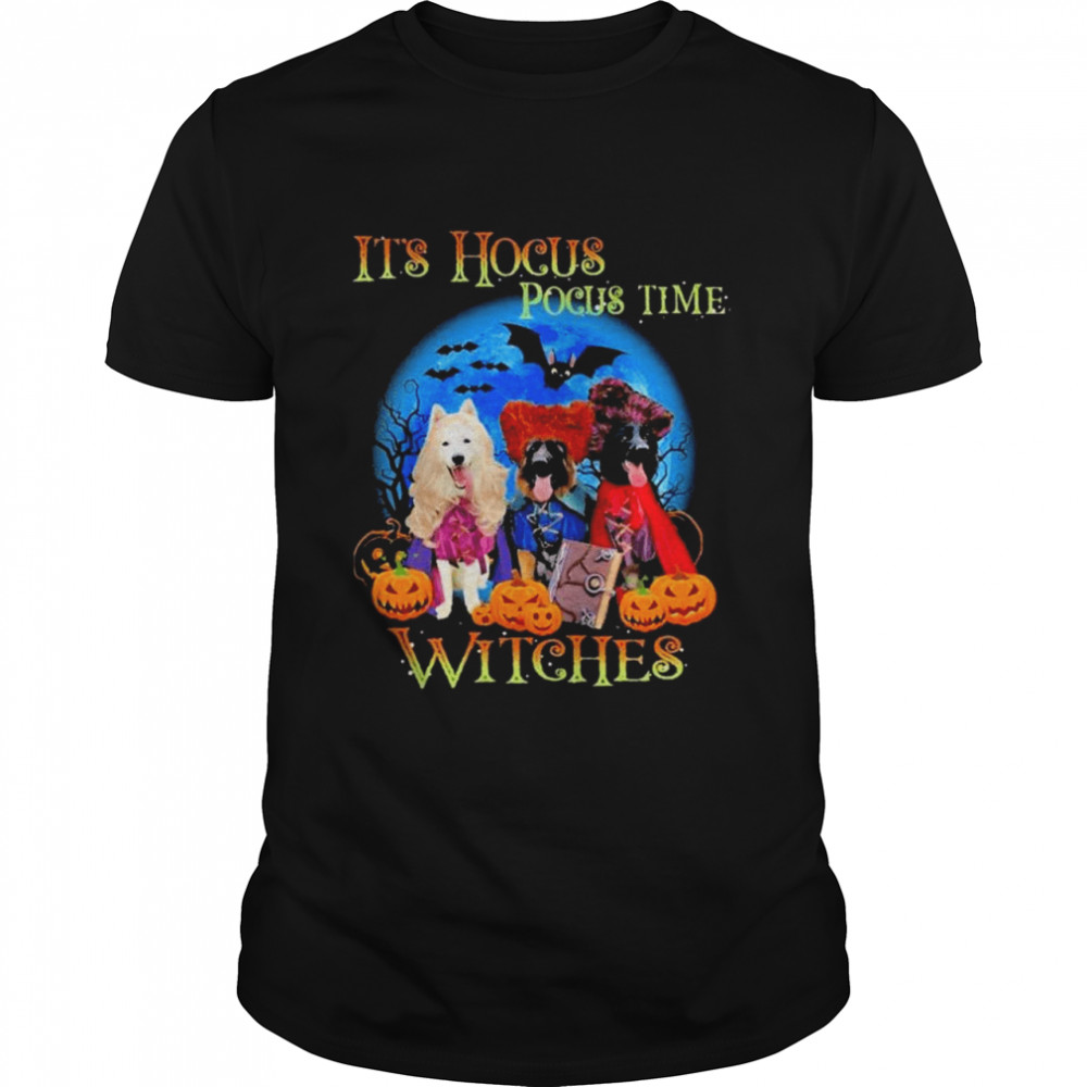 Becgie GSD It's Hocus Pocus Time Witches Halloween  Classic Men's T-shirt