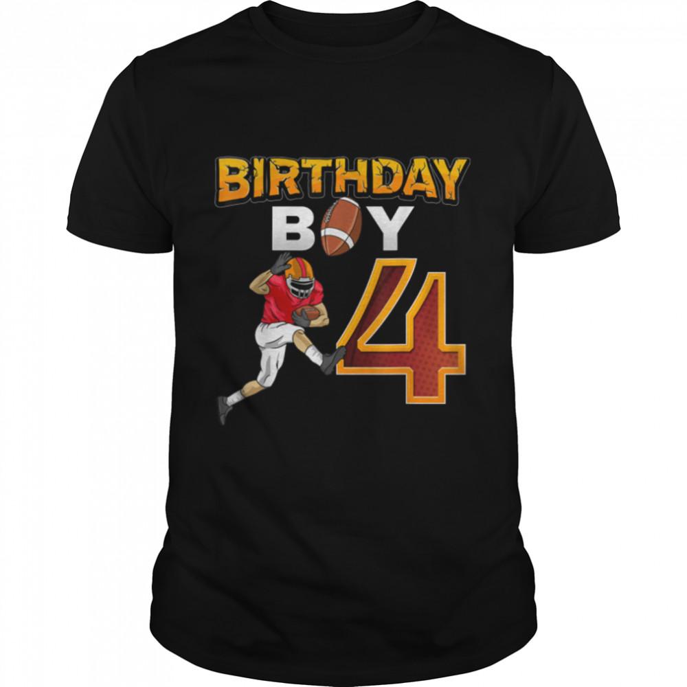 Birthday Boy 4 T- B09JXZSRRZ Classic Men's T-shirt