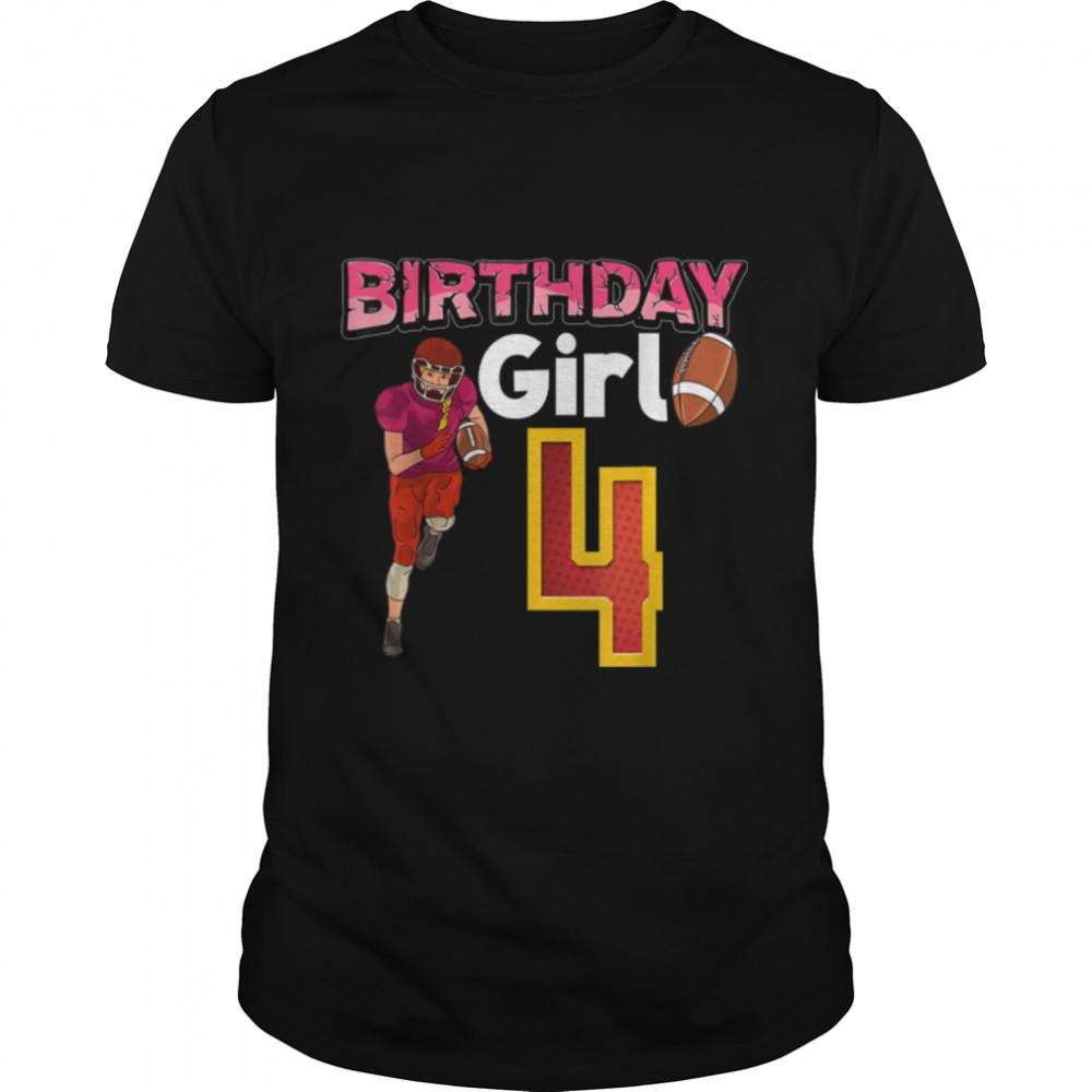 Birthday Girl 4 T- B09JXWS7TC Classic Men's T-shirt