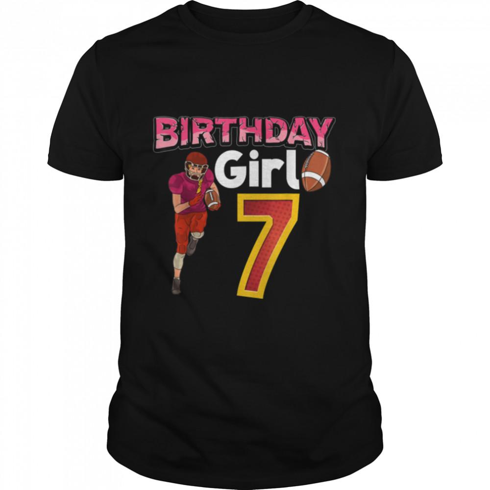 Birthday Girl 7 T- B09JXTWS6Y Classic Men's T-shirt