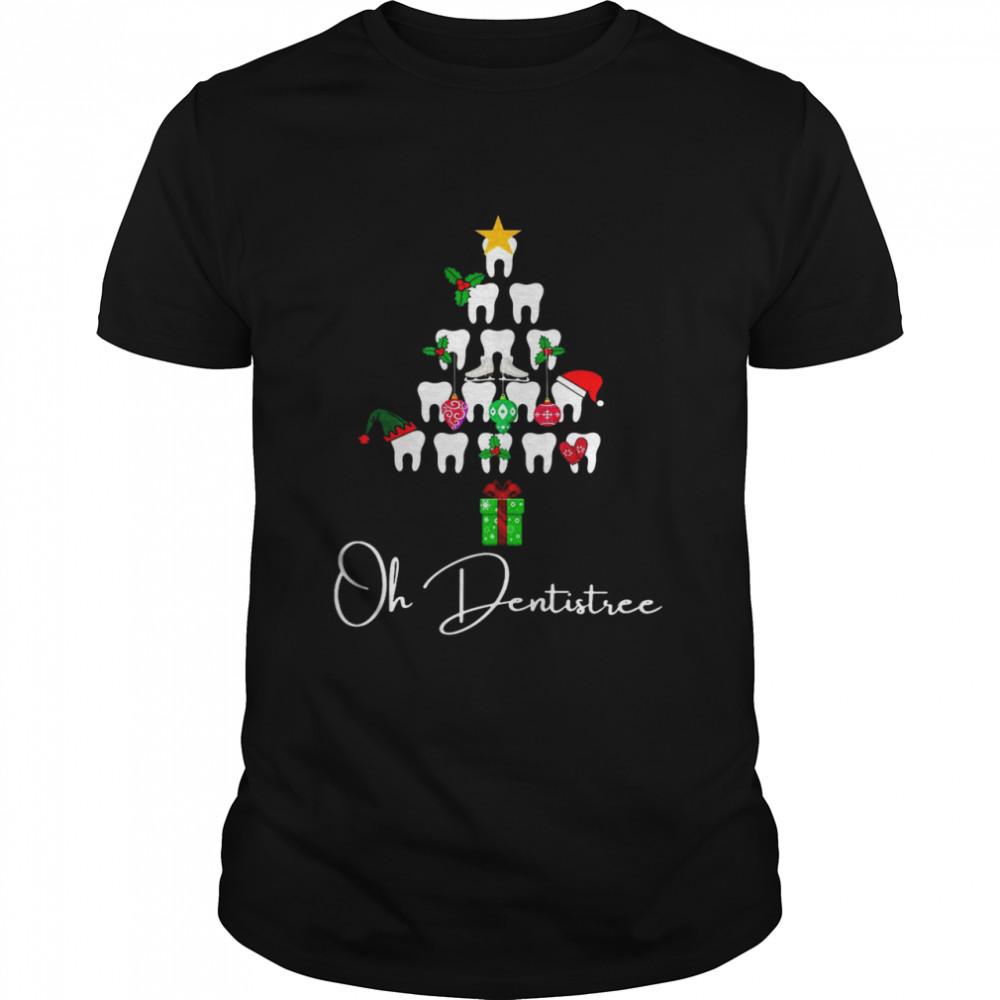Dental Dentist Oh Dentistree Christmas T-shirt Classic Men's T-shirt